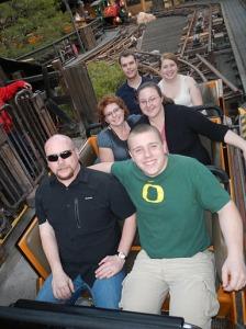 Our Family, Christmas 2012 on Big Thunder Mountain Railroad