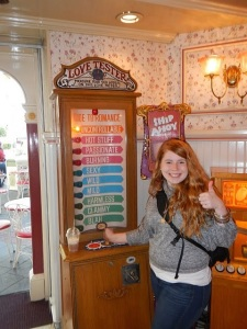 In the Ice Cream Shop on Main Street